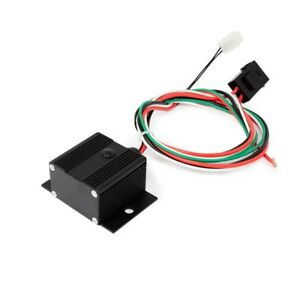 Adjustable Electric Cooling Fan Controller With Thread in Thermostat Black