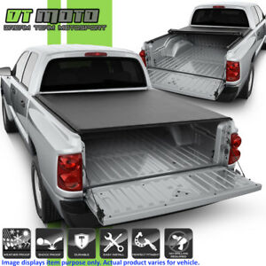 Roll Up Tonneau Cover For 2005 2010 Dodge Dakota Extended Club Cab 6 5 78 Bed
