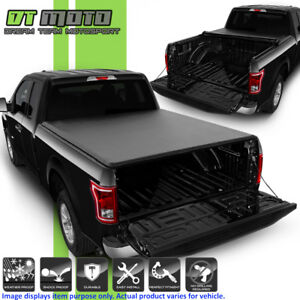 Soft Roll Up Tonneau Cover For 2015 2016 2017 2018 2019 Ford F150 5 5 66 Bed