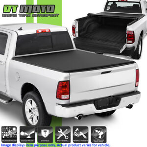 Roll Up Tonneau Cover For 2009 2018 Dodge Ram 1500 10 18 2500 3500 6 5ft Bed