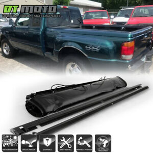 Soft Roll Up Tonneau Cover For 1993 2011 Ford Ranger 6 Feet 72 Flareside Bed