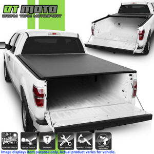 Soft Roll Up Tonneau Cover For 2004 2014 Ford F150 6 5 Feet 78 Styleside Bed