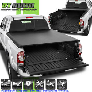 Premium Soft Roll Up Tonneau Cover For 2005 2015 Toyota Tacoma 6ft 72 Bed