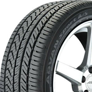 4 New 235 50 18 Yokohama Advan Sport A s All Season Tires 235 50 18