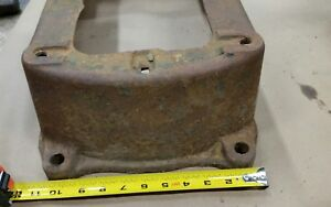 Old Fairbanks Morse 3hp Z Hit Miss Gas Engine Base Sub Base Original Part