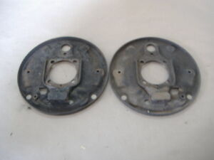 Vw Bug Ghia Rear Brake Backing Plates 68 79 Yr