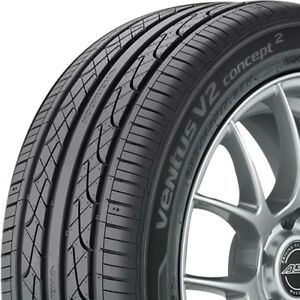 4 New 245 45 17 Hankook Ventus V2 Concept2 All Season High Perform 500aaa Tires