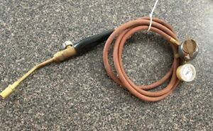Uniweld Gas Welding Torch Hose With Gauge