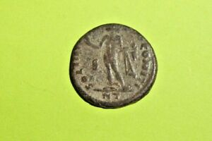 Constantine I 306 Ad Ancient Roman Coin Sol Sun God Globe Antique Old Vg Vf Find