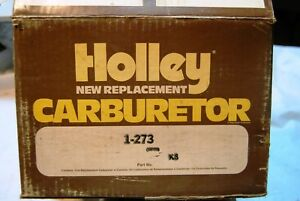 Holley Nos Carburetor 1 273 1973 Ford Pinto 122 2000cc 2bbl