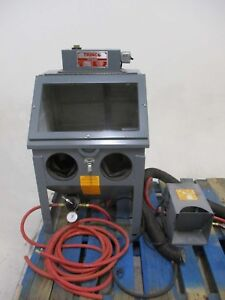 Trinco Dry Blast Commercial Sand Blasting Unit Sold As is Best Price