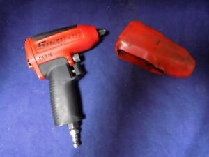 Snap On Tools Super Duty Impact Air Wrench 3 8 Drive Mg325 Red With Cover