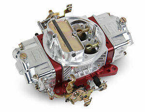 Holley 0 76651rd 650cfm Manual Choke Red Ultra Double Pumper Factory Refurb