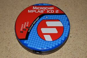 Microchip Mplab Icd 2 In circuit Debugger 9vdc 750 Ma P n 10 00319 R12