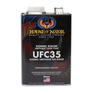 House Of Kolor Ufc35 Urethane Flo Klear Clearcoat Gallon