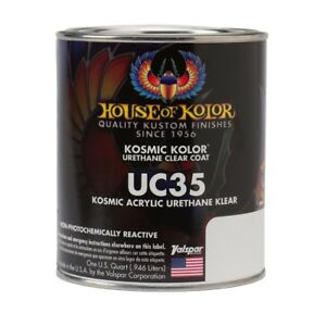 House Of Kolor Uc35 Kosmic Acrylic Urethane Klear Clearcoat Quart
