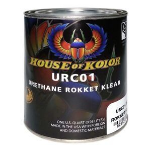 House Of Kolor Urc01 Urethane Rokket Clear Quart