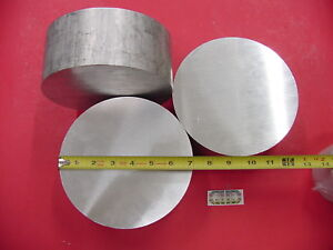 3 Pieces 7 Od Aluminum 6061 Round Rod 3 25 Long T6511 Solid Lathe Bar Stock