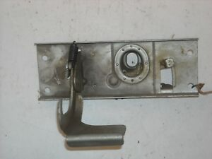 Mopar Nos 1960 Plymouth Front Hood Latch Release Handle Assembly 1960191