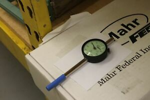 Unused Mahr federal Dial Indicator 291 010 2015015 Excellent Condition Hwy