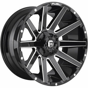 20x9 Black Milled Contra 6x135 6x5 5 20 Wheels Open Country Mt 35 Tires