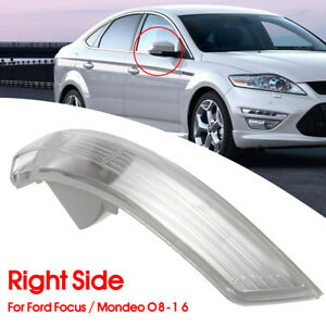 Right Wing Mirror Turn Signal Light Lens For Ford Focus Mondeo 2008 2016