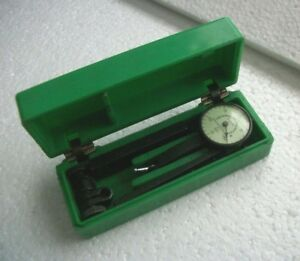 """Federal TESTMASTER Mod. M1 Dial Indicator Machinist Guage .0005"""" Jeweled wcase"""