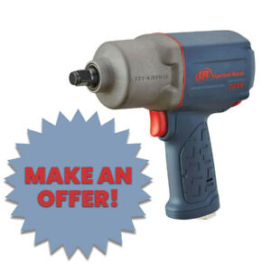 Ingersoll Rand 2115timax 3 8 Impact Wrench Free Boot And 8pc Socket Set