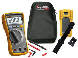 Fluke 117 Pro Te Electrician s Multimeter With Non contact Voltage Detection