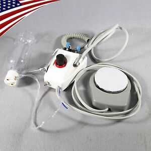 Usa Stock Dental Portable Turbine Unit Work With Air Compressor 2 4 Hole Sn4
