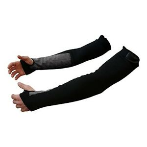 Bc Precision 22 Black Kevlar Protective Arm Sleeves cut And Heat Resistant