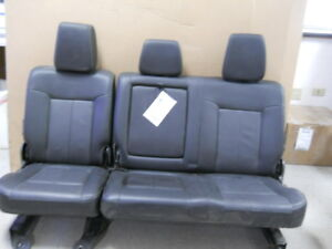 2014 Ford F350sd Lariat Rear Seat Leather Oem