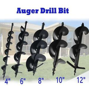 4 6 8 10 12 Auger Bits Shock Absorber Extension For Drill Post
