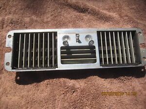 1964 1965 1966 Ford Thunderbird Ac Vent Panel Air Conditioning 64 65 66 Original
