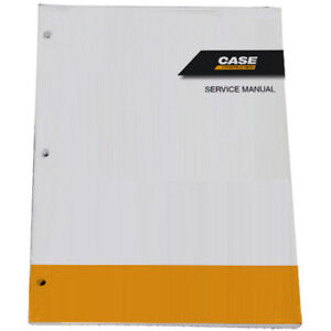 Case W11 Articulated Wheel Loader Service Shop Repair Manual Part 9 67532