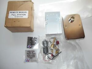 Kidde Badger C02 Remote Manual Pull Station Fire Alarm New In Box