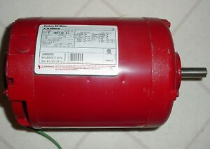 A o Smith H981 1 2 Hp 3 Phase Electric Motor