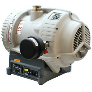 Edwards Xds35ic 25cfm Chemical resistant Scroll Pump W Silencer