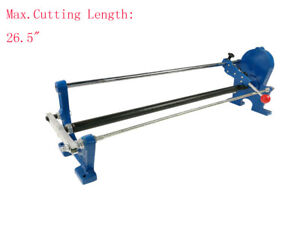 Intbuying Manual Hot Stamping Foil Paper Cutter gear Type Middle Stick Dia 1