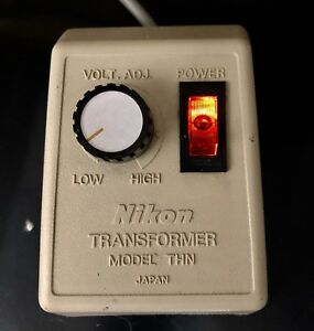 Genuine Nikon Microscope Transformer Thn Light Source Illuminator 120v