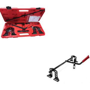 Cylinder Head Service Valve Spring Compressor Removal Installer Tool Kit Fit Car