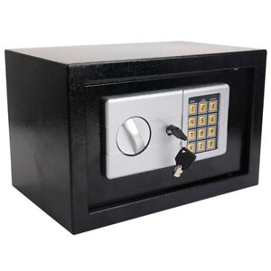 12 5 Electronic Digital Lock Keypad Safe Box Cash Jewelry Gun Safe Hotel Office