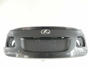 2006 Lexus Gs300 Gs350 Rear Trunk Lid Luggage Door Cover Shell Factory 178 29 A
