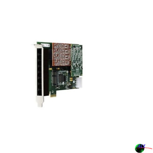 Digium 1a4b03f 4 Port Modular Analog Pci express Card With 4 Trunk Interfaces