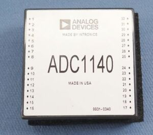 Analog Devices Adc1140 A d Analog To Digital Converter 16 Bit