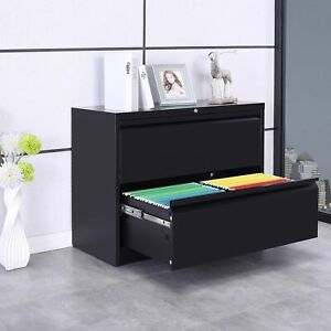 Filing Cabinet Heavy duty Lateral File Storage Cabinet W drawers