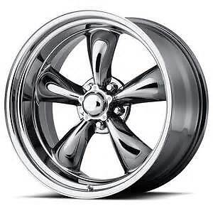 17x8 American Racing Torq Thrust Ii 2 D Chrome Wheel 5x4 75 Vn6157861