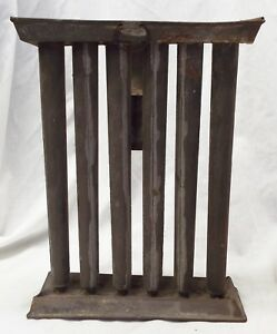 Old Antique Large Metal 6 Hole Taper Candlestick Mold Candle Making Primitive