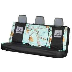 Realtree Mint Green Camo Bench Seat Cover Universal Full Size Car Truck