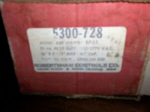 Robertshaw 5300 728 Commercial Electric Oven Thermostat Model Kxp